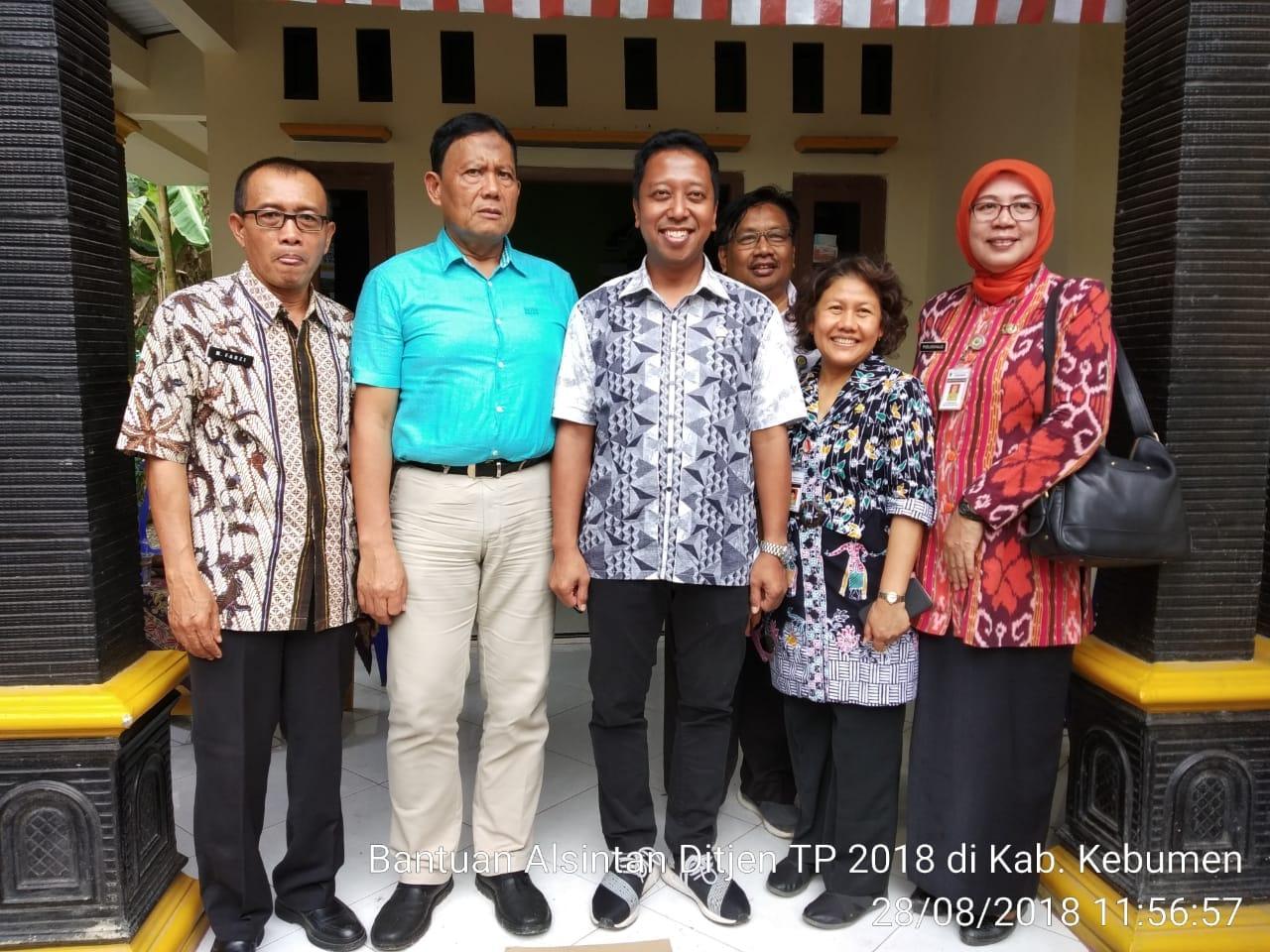 Kunjungan Dirjen Tanaman Pangan Kementerian RI ke Padureso